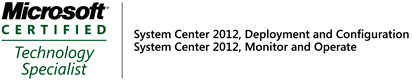 MCTS System Center 2012