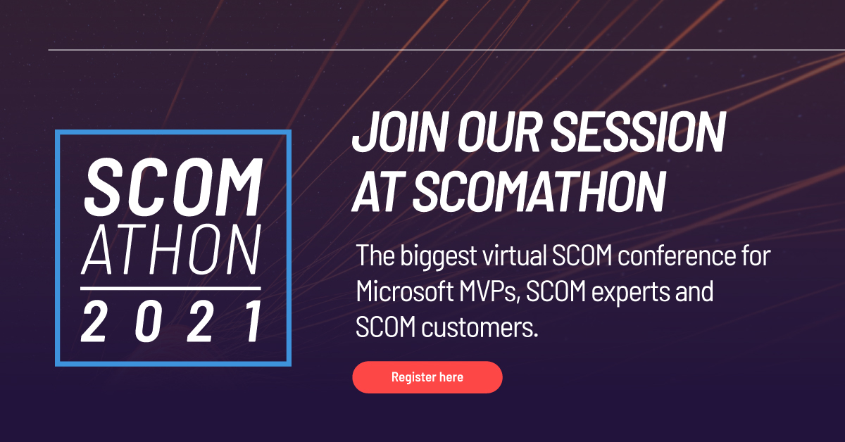 Speaking at SCOMathon June 2021